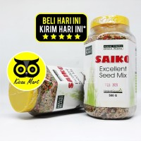 PAKAN MAKANAN BURUNG KENARI FINCH BIJI MILET SAIKO EXCELLENT SEED MIX