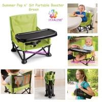 Summer Pop n' Sit Portable Booster Green / Kursi Bayi