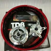 velg TDR 140 dan 160 ring 17 1 set trombol dan jari2