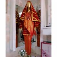 baju padusi koto gadang padang palembang minang
