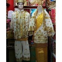 baju sepasang pengantin koto gadang Bordir padang minang palembang