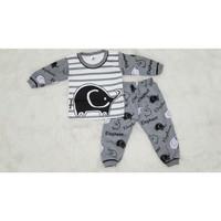 Baju Tidur Setelan Piyama pajamas Anak Bayi laki 3 4 5 6 7 8 9 bulan