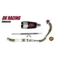 knalpot racing honda cbr 250 r fullcacing werkes usa carbon