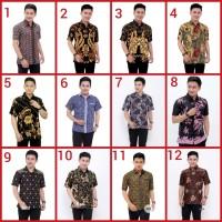 Baju kemeja batik pria murah grosir pekalogan solo jogja modern