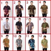 Kemeja batik pria baju batik murah grosir pekalongan solo jogja modern
