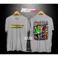 Kaos T-shirt Mothai Thailook Honda Beat Fi Kualitas Distro Terbaru