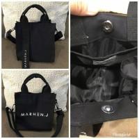 tas korea marhen j rico mini free pouch full black
