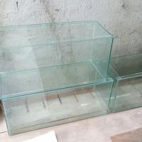 Aquarium 60cm x 40cm / Akuarium Kaca BARU bening 60 x 40 cm GOSEND