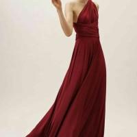 Promo Free Kemben, Bridesmaid Dress Maxi STD / Convertible / Multiway