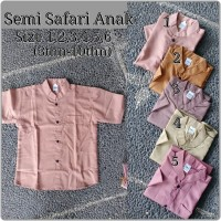 Pakaian adat bali baju semi safari khas bali anak laki-laki