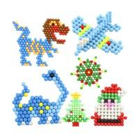 TERBARU 6000pcs Aqua Beads Solid Bead Refill Pack Water Sticky