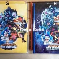 Sale Buku Album Kartu Animal Kaiser 96 Kartu Ukuran Sedang 15 X 20 Cm