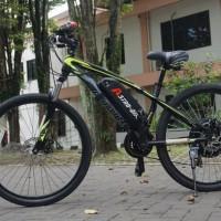 Sepeda Listrik Astro-Bike Premium Kits Dengan Sepeda Aviator