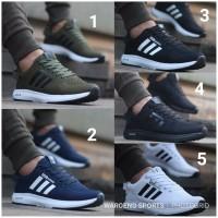 Sepatu Pria Adidas Neo Climacool Men Cowok Black White Blue Green Navy
