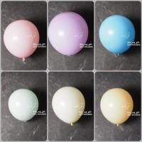 Hiasan Pesta - Balon Ulang Tahun; Warna Pastel, 1 pack; 1 pcs - Orange