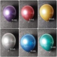 Hiasan Pesta - Balon Ulang Tahun; Warna Chrome, 1 pack; 1 pcs