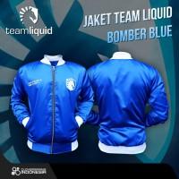 Jaket Team Liquid Bomber Blue - Apparel Gaming Esports