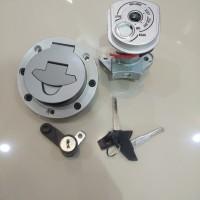 kunci kontak set dan tutup tangki vixion new NVA Baut 7