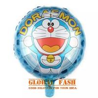 balon foil bulat doraemon/ balon karakter doraemon/ balon doraemon