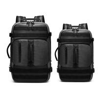 Ozuko Backpack #9242 S/L Grey - L