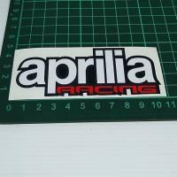 Cutting Sticker Aprilia Racing 10cm
