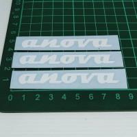 Cutting Sticker Anova putih 8cm