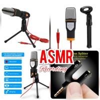 Paket ASMR Recording Broadcast Streaming Microphone SF666 SF-666