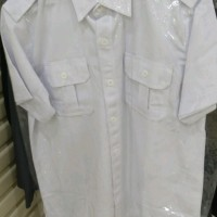 Seragam putih baju dinas putih kemeja putih PDH PDL M-XXL