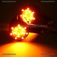Lampu Indikator Sein LED Warna Amber + Merah untuk Motor