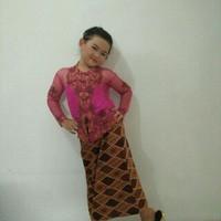 Baju Adat Daerah Sunda Setelan Anak Perempuan Girl Cew PALING MURAH