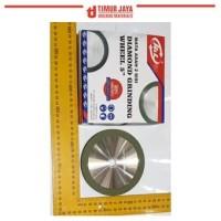 HnL DIAMOND 4 INCH MATA ASAH 2 sisi grit 240 GRINDING wheel blitz