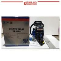 HNL HL5200 Chain Saw Gergaji Kayu Mesin 20 Inch multipro chainsaw