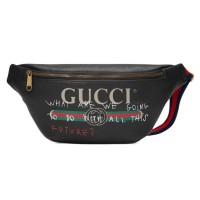Tas Unisex Gucci coco capitan waistbag Impor
