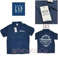 ORIGINAL BRANDED Baby Gap Shirt - atasan kemeja anak laki gap cowok