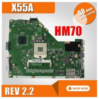 X55A Motherboard REV2.2 HM70 For ASUS X55A Laptop motherboard X55A Ma