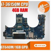 For Samsung NP700Z5C Laptop Motherboard With i7-3615QM CPU 4GB RAM GT