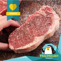 Daging Sapi Sirloin Steak Import AUS Beef Grade A
