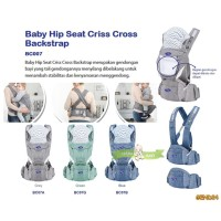 GEND24 GENDONGAN BABY SAFE HIP SEAT CRISS CROSS BACKSTRAP BC007