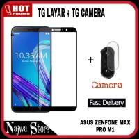 9D Tempered Glass Asus Zenfone Max Pro M1 Plus TG Camera Deso Case