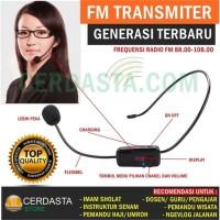 Microphone Headset FM Transmitter Wireless Tour