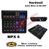 Audio Mixer Hardwell MPX 8 PRO ( 24 bit DSP )