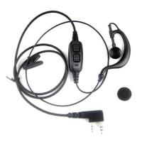 Dual PTT Headset/Earphone untuk HT BAOFENG TSSD