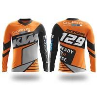 Kaos Jersey Trail Motocross KTM Racing Baju Motor cross GoPRO Big Size