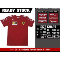 T-SHIRT F1 - 2018 Scuderia Ferrari Team