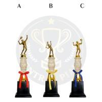 Piala Patung Marmer Tenis Lapangan Bulu tangkis Volli