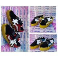 Sepatu Vans Anak Mickey Disney - Merah, 26