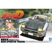 Aoshima 1/24 AE86 Sprinter Trueno Takumi Fujiwara Project Initial D
