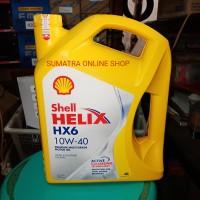 Oli shell helix hx6 4liter 10w-40 diesel bensin