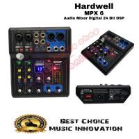 Audio Mixer Hardwell MPX 6 ( 24 bit DSP )