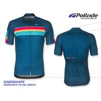 Jersey Sepeda Roadbike Pollride DAWNSHAPE shortsleeve